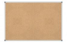 Pinnboard MAULstandard 90/120 grau Alurahmen Korkoberfläche