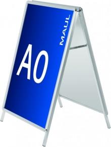 Plakatständer Kundenstopper A0 public, Aluminium # 6631008
