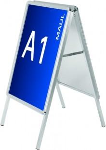 Plakatständer Kundenstopper A1 public, Aluminium # 6631108