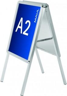 Plakatständer Kundenstopper A2 public, Aluminium # 6631208