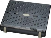Fußstütze, höhenverstellbar per Hand in 2 Stufen und 6 Neigungswinkel