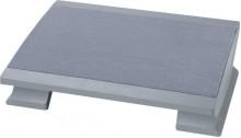 Ergonomische Fußstütze Komfortabel, grau
