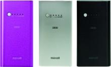 Rechargeable Powerbank pink externer Batteriensatz Li-Ion 1700mAh