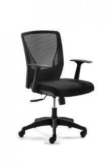 Drehstuhl mit Netzrücken MY Connect Netzrücken schwarz, Sitz schwarz