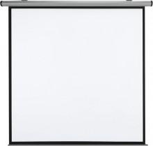 Rollobildwand elektrisch 200x200 cm geeignet f. Wand- u. Deckenmontage