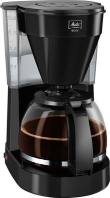 Kaffeemaschine Easy II schwarz, Glaskanne für bis zu 10 Tassen,