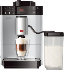 CAFFEO Kaffeevollautomat Passione, one touch, silber, Rezeptfunktionen