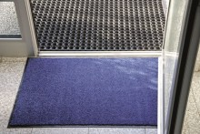 Schmutzfangmatte Eazycare 0,91x1,50 m Material: Polyamid, grau