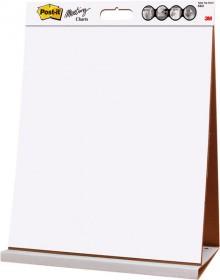 Post-it Meeting Chart Table Top 508mmx584mm 20 Blatt weiß