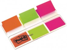 Post-it Index OTG Spender mit 3x20 Index in orange,limone,pink