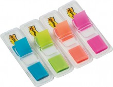 Index Mini Spender Post-it 683-4AB sortiert 12,7x43,2mm leuchtfarben