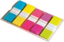 Post-it Mini Index Haftstreifen 11,9x43,1mm je Farbe 20 Streifen