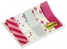 Post-it Index 5x20 durchgefärbte Haftstreifen, Candy Collection