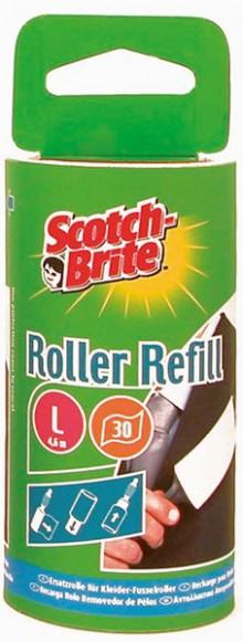 Scotch-Brite# Ersatzfusselrolle 30 Blatt