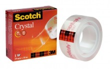 Klebefilm Scotch 600 19mmx10m Cristal Clear Tape