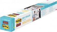 Dry Erase Folie, 609 x 914mm, weiß, hält auf Stahl, Glas, Holz, Tafeln,