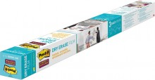 Dry Erase Folie, 914 x 1219mm, weiß, hält auf Stahl, Glas, Holz, Tafeln,