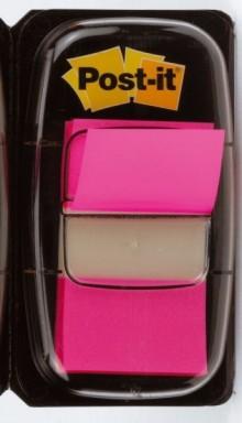 Index Post-it 680 pink 25,4x43,2mm