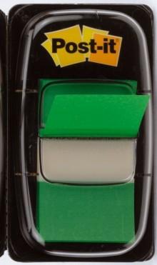 Index Post-it 680 grün 25,4x43,2mm