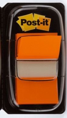 Index Post-it 680 orange 25,4x43,2mm