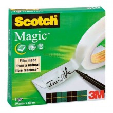 Klebefilm Scotch 810 12mmx33m Magic Tape unsichtbar