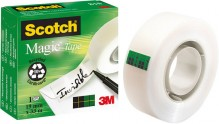 Klebefilm Scotch 810 19mmx33m Magic Tape unsichtbar