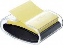 Post-it® Super Sticky Z Notes # PRO-B1Y Spender schwarz inkl.