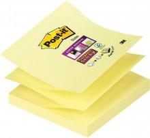 Post-it® Super Sticky Z-Notes R33012SY 1 Block á 90 Blatt,