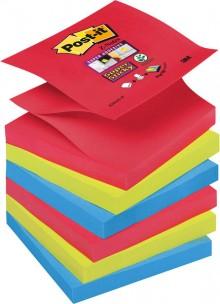 Post-it® Super Sticky Z-Notes R33006SJ 6 Blöcke á 90 Blatt,