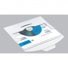 Versandkuvert für CD 220x124x5mm Karton weiss 10 St