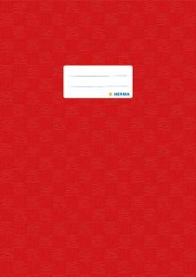 Heftschoner Folie A4 hoch rot gedeckt