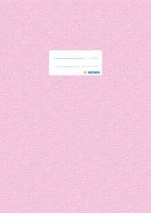Heftschoner Folie A4 hoch rosa gedeckt