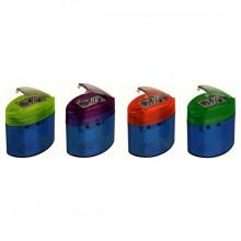 Dosendoppelspitzer elliptisch, Klapp- schluss, farbig sortiert