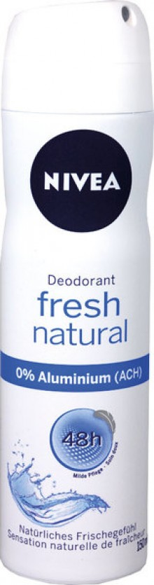 Deodorant Nivea für Frauen, Fresh Natural, Spray, 150 ml, milde Pflege,