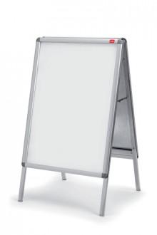 Plakatständer, Alu Format A2 silber