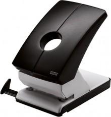 Registraturlocher B260 grau/schwarz Stanzleistung 60 Blatt, mit
