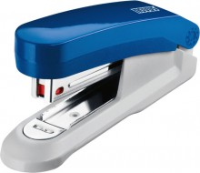 Heftgerät E15 blau/grau Heftleistung: 15Blatt, Klammer No.10