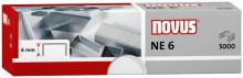 Heftklammern NE6, verzinkt Stahldraht, f. Elektrohefter