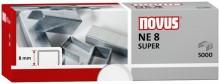 Heftklammern NE8 super verzinkt Stahldraht, f. Elektrohefter B100EL