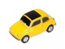 USB-Stick Fiat Nuova 500,16 GB, gelb