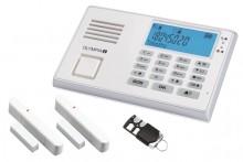 Alarmanlage Protect 9035GSM weiß Eingebaute Telefonwähleinheit, Sirene