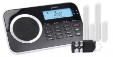 Alarmanlage Protect 9630GSM, schwarz Eingebaute Telefonwähleinheit, Sirene
