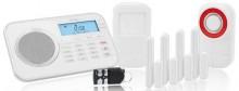 Arlarmanlage Protect 9878 GSM, weiß Notruf- und Freisprechfunktion