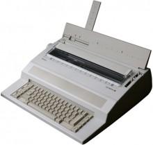 Olympia Schreibmaschine - Startype 20 Zeichen/Sek, Typenrad Classic