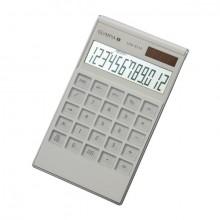 Taschenrechner LCD-3112, weiß, 1-zeiliges Punktmatrix LC-Display