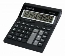 Tischrechner LCD-612 SD, schwarz, 12-stelliges LC-Display, 20 mm