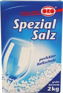 ORO Spülmaschinen Salz Compact grobe Körnung, 2000 g
