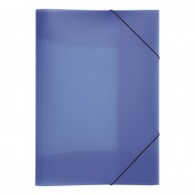 Pagna Gummizugmappe in blau
