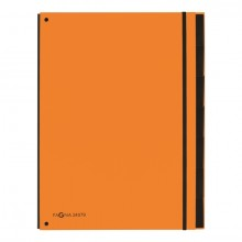 Pultordner 7 Fächer, orange