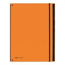 Pagna Pultordner in orange mit 7 Fächern